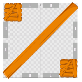 Example Tile with two seperated areas.